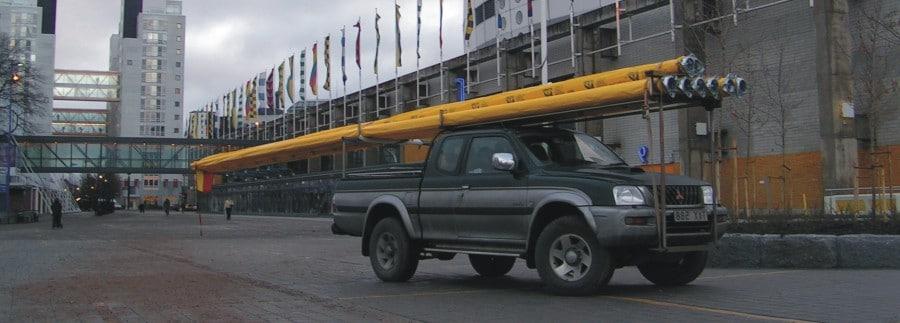 Flaggstångstransport i hela Sverige och transport flaggstång i Stockholm.