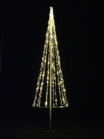 Ljusslinga flaggstång - STAV-granen