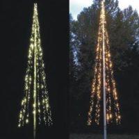 Julgransbelysning flaggstång - Ljusgran NORDIC LIGHT - LED