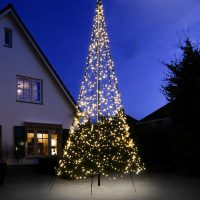 Belysning flaggst책ng Fairybell 6M 1200LED