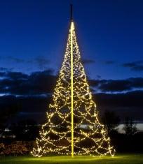julgran för flaggstång